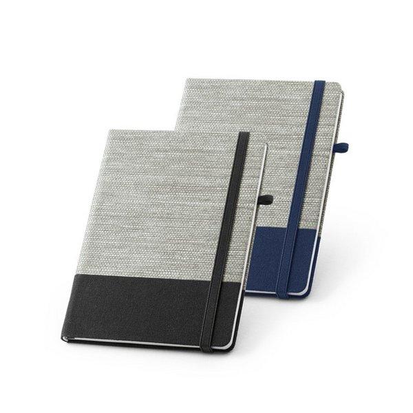 A5 Notizbuch - Hardcover aus Stroh & Canvas-Baumwolle