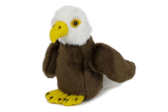Adler Plüsch 13cm