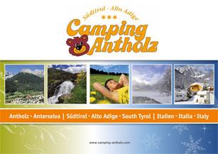 Camping Antholz Drucksachen