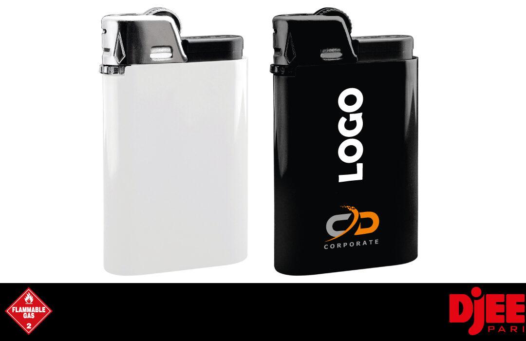 DJEEP - Einweg-Feuerzeug; 10 Stk - weiß und schwarz