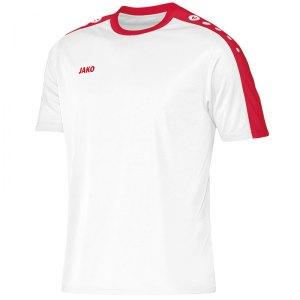 Fußballdressen weiß-rot
