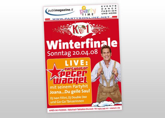 K1 Winterfinale Flyer