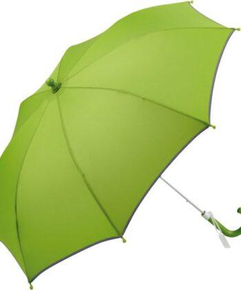Kinderschirm mit Sicherheitsstreifen grün