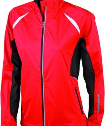 Laufbekleidung Jacke rot
