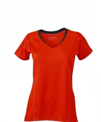 Laufbekleidung rot Damen