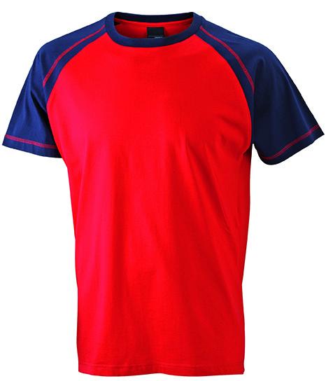 Raglan Shirt zweifarbig
