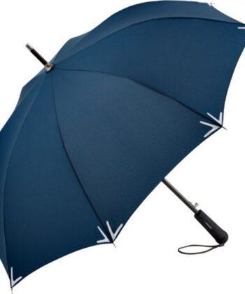 Schirm mit Sicherheitsstreifen und LED-Lampe