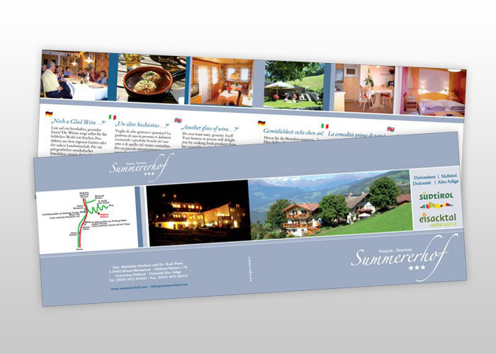Summererhof Hotelprospekt