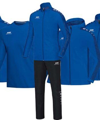 Vereinsbekleidung blau