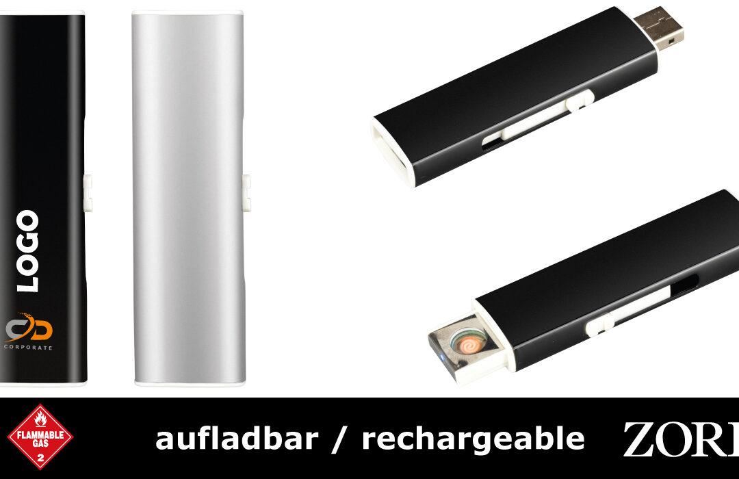 ZORR-NUOVO USB ANZÜNDER - aufladbar