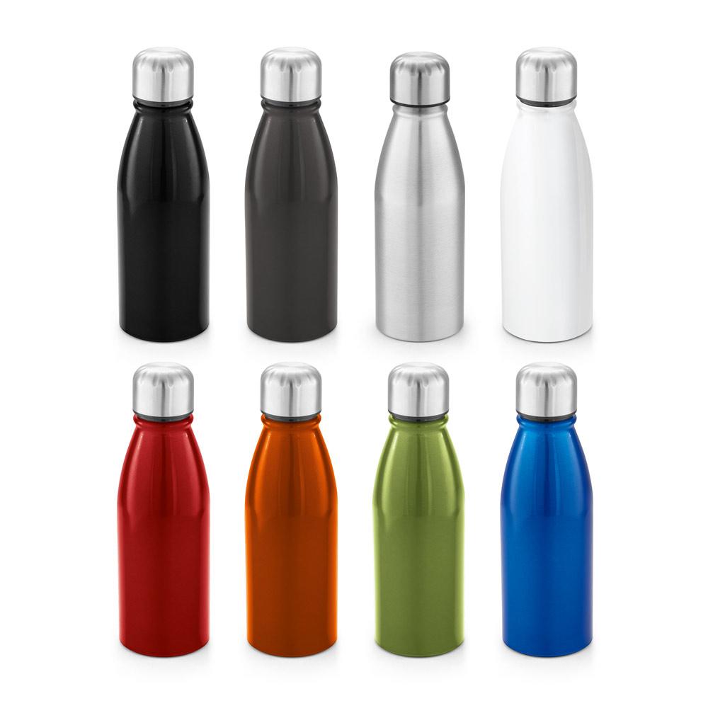 kleine Thermosflasche - Sport-Flasche aus Aluminium