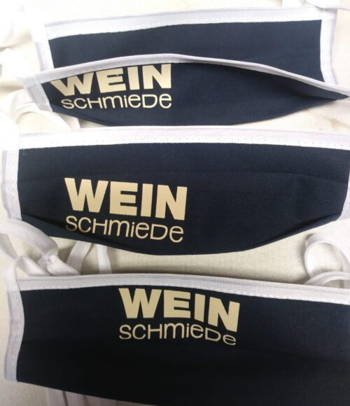 Mundschutzmasken mit Personalisierung