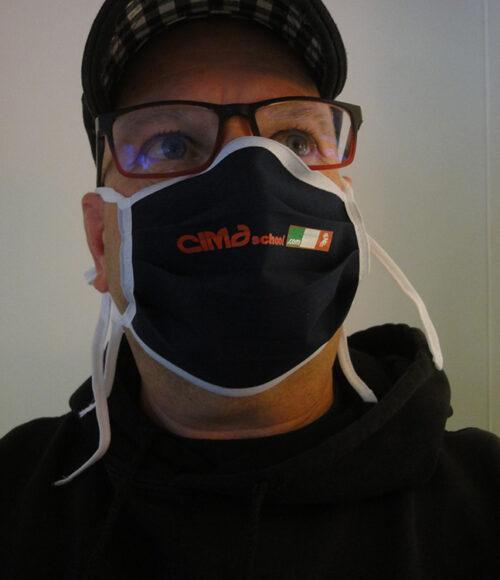 Munschutzmasken mit Logo