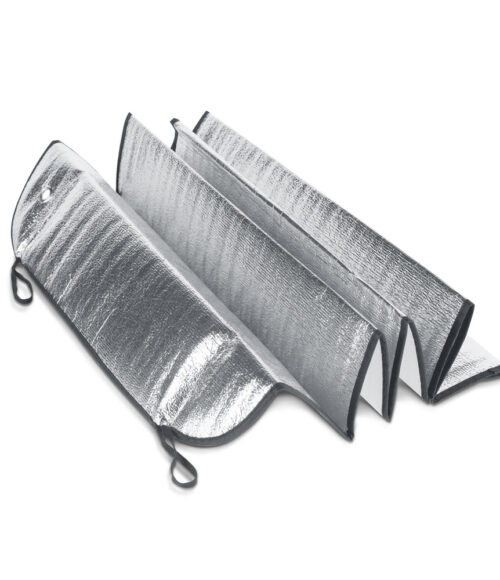 Sonnenschirme für Auto-Windschutzscheibe; PE-Schaum, gefüttert mit 1 Aluminiumfolie