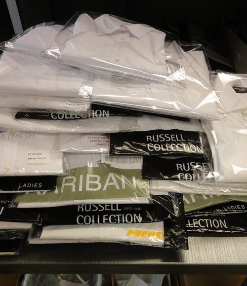 Hemden weiße-diverse Größen