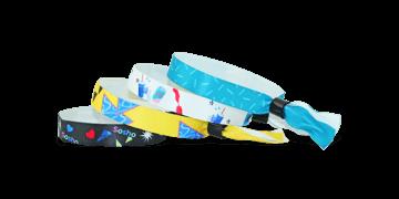 Stoffbänder mit wiederverschließbarem Verschluss